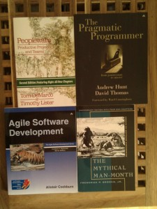 Four Classic Books on Software Development